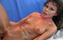 Jessy Nikea fucked by a black masseur