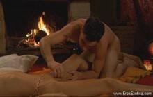 Sensual romantic massage