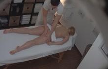 Czech Hot Blonde Enjoys Fucking Her Masseur